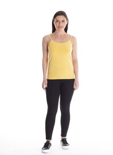Stamina İp Askılı Atlet Sarı